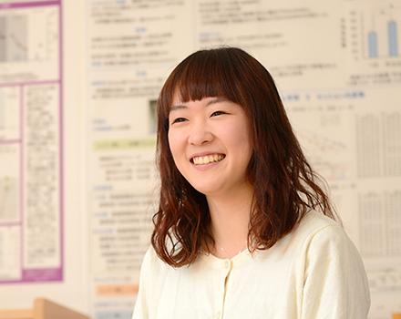 1年次生 和歌山県 開智高等学校出身 福島 萌 さん