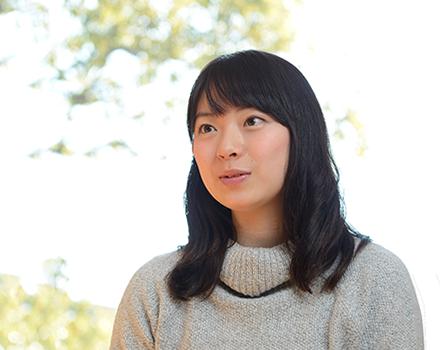 2年次生 京都府 同志社女子高等学校出身 松枝 可良子 さん