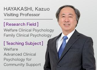 HAYAKASHI, KazuoVisiting Professor