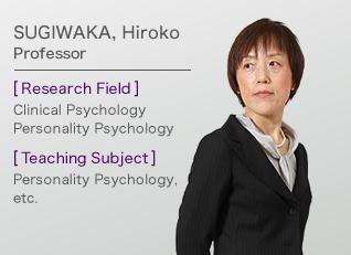SUGIWAKA, Hiroko Professor