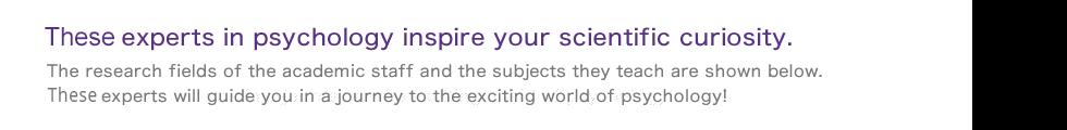 Twenty one experts in psychology inspire your scientific curiosity.